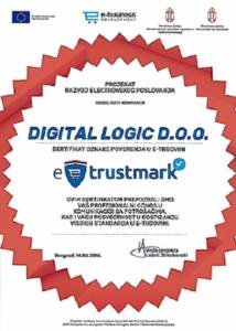 E-trustmark certificate