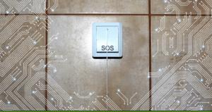 SOS taster u sistemu kontrole pristupa hotelskim sobama