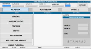 Offline sistem kontrole pristupa i naplate karata