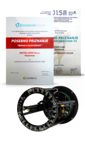 NFC 2DQR Reader - Priznanje